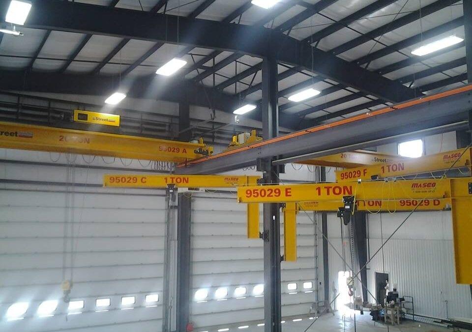 Overhead Crane Demand Increases Across Canada